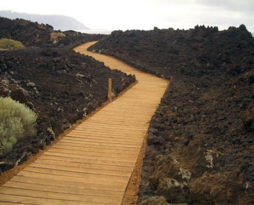 Wanderweg auf El Hierro