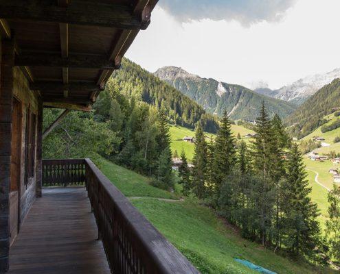 Villa-Hartung - Balkon