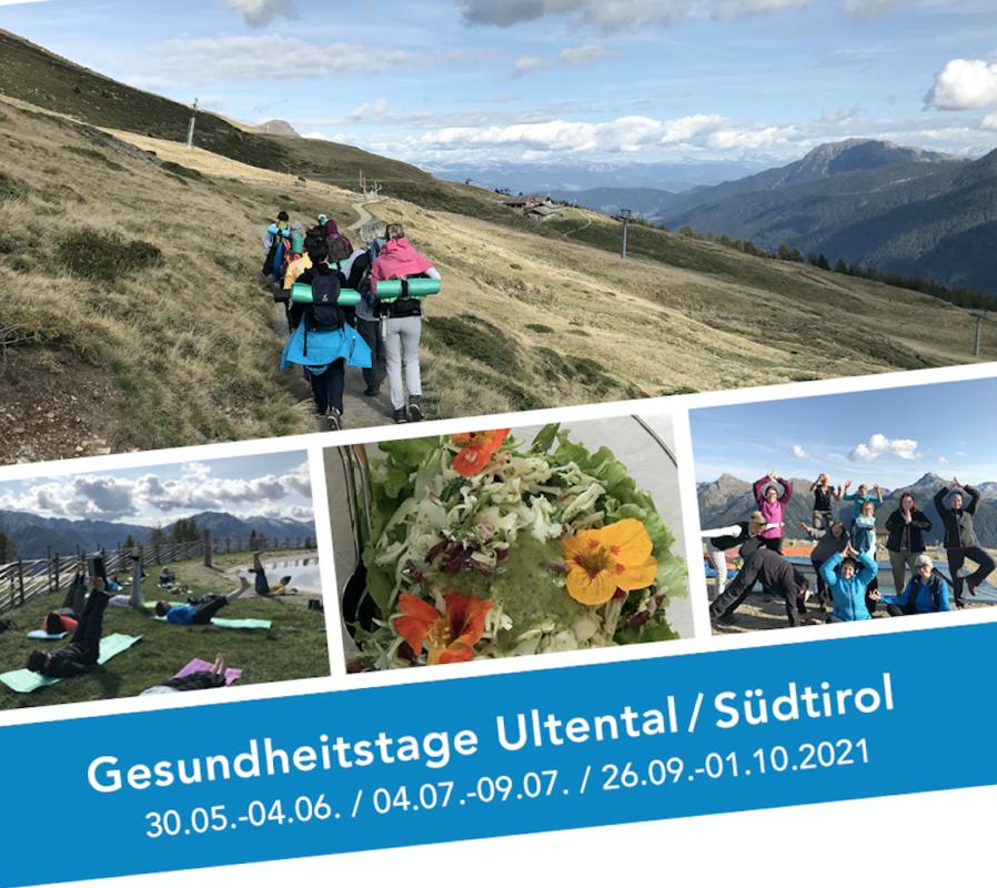 Gesundheitstage Ultental / Südtirol