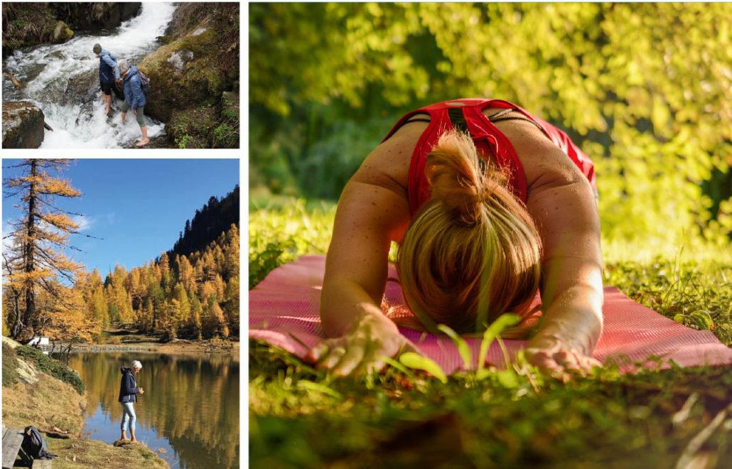 Meditatives Yoga-Wandern - Chronisch gesund mit den 8 Meilensteinen  im Juli 2021